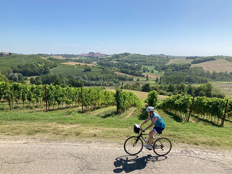 fietsvakantie piemonte - onderweegs in italië