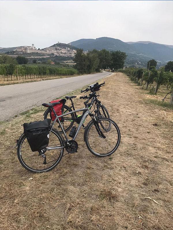 Fietsvakantie Umbrië - fietsen in Italië