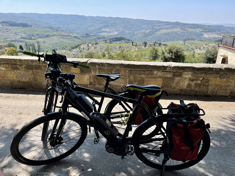 Fietsvakantie Toscane Chianti Deluxe - fietsen in Toscane